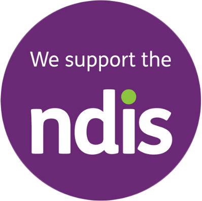 We Support The NDIS logo